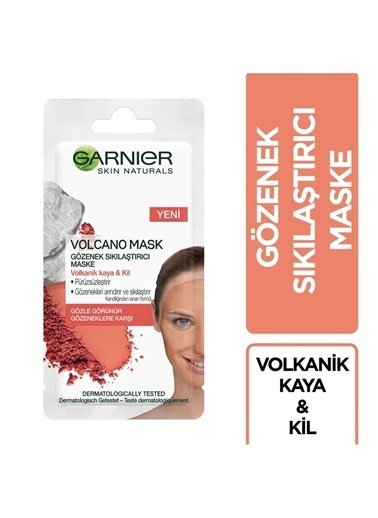 Garnier Garnier Skin Naturals Volcano Mask Gözenek Sıkılaştırıcı Maske Renksiz
